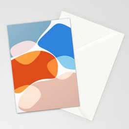 Modern minimal forms 36 Stationery Cards
