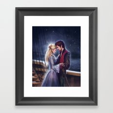 The Pirate and the Star Framed Art Print