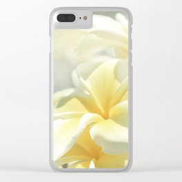 Na Lei Pua Melia Aloha e ko Lele Clear iPhone Case