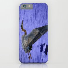 Great blue heron in fly Slim Case iPhone 6s