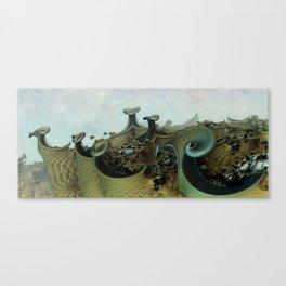 where the dragons sleep Canvas Print