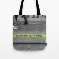 street Tote Bags featuring street by habish