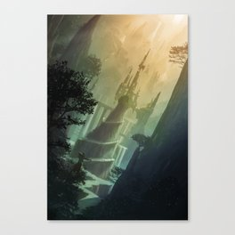 Mysterious Realm Canvas Print