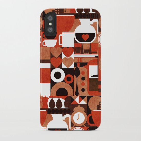 Coffee Story iPhone Case