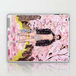Cherry Blossom Park Dream Guy Laptop & iPad Skin