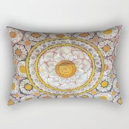 Lotus Wall Rectangular Pillow