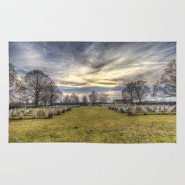 World War 2 War Graves Budapest Rug