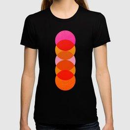Abstraction_COLOUR_CIRCLES_001 T-shirt