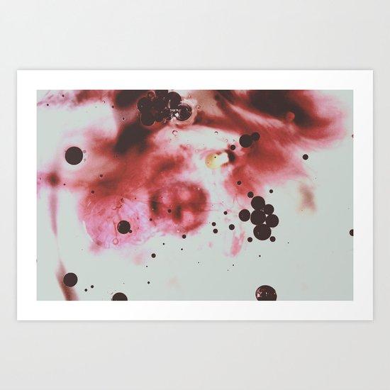Particule élémentaire Art Print