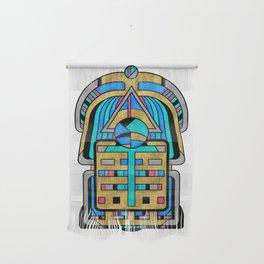 Scarabesque - Digital Art Deco Design Wall Hanging