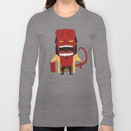 Screaming Helldude Long Sleeve T-shirt