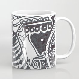 Who let the dog out? Coffee Mug
