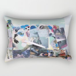 Man Down Rectangular Pillow