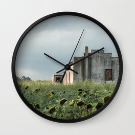 Abandoned house in the Pampa house in the Pampa. Wall Clock
