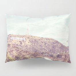 Hollywood Sign Pillow Sham