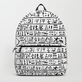 Egyptian Hieroglyphics Backpack