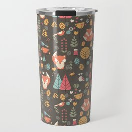 Baby fox pattern 04 Travel Mug