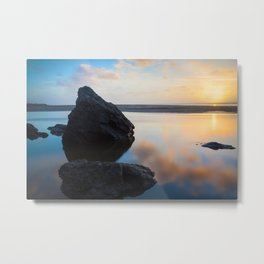 Getting Moonstoned Metal Print
