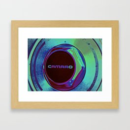 Bitchin' Camaro Framed Art Print