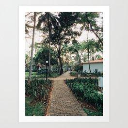 Pathway to Paradise Art Print