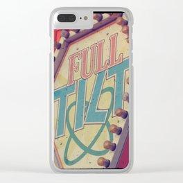 Full Tilt carnival ttv photo Clear iPhone Case