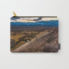 Owens River Floodplain At Sunset - Bishop - California Carry-All Pouch