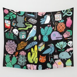 Various Objects III Wall Tapestry