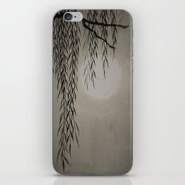 Willow in the moonlight iPhone Skin