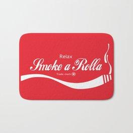 Relax - Smoke a Rolla Bath Mat