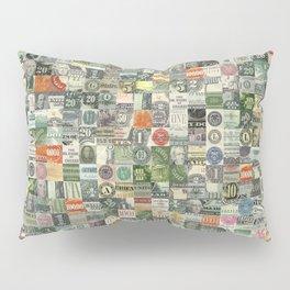 Money Montage Pillow Sham