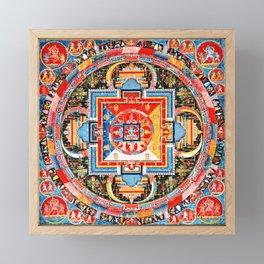 Buddhist Mandala of Jnanadakini Tangka Framed Mini Art Print