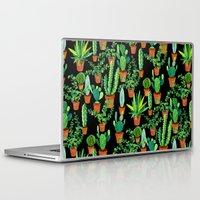 cacti Laptop & iPad Skins featuring Cacti by Sian Keegan