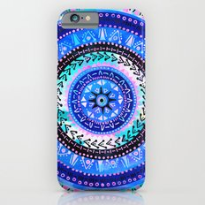 Mandala 2 {blue} iPhone 6s Slim Case