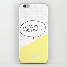 Hello :p iPhone Skin