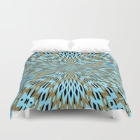 infinity Duvet Covers featuring Infinity by Stay Inspired
