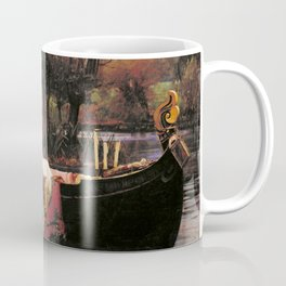The Lady of Shalott by John William Waterhouse (1888) Coffee Mug
