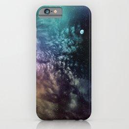 Polychrome Moon iPhone Case