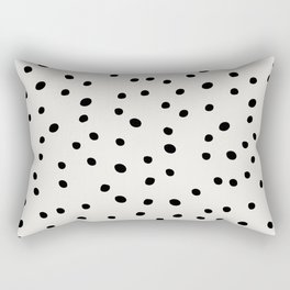 Preppy Spots Digita Drawing Rectangular Pillow