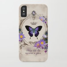 Shine like the universe is yours iPhone X Slim Case