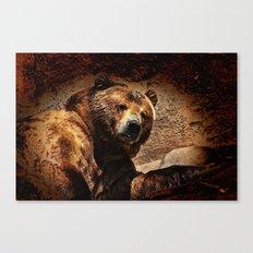 Bear Artistic Canvas Print