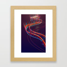 SpiralSpikes Framed Art Print