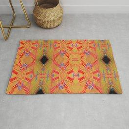 Pattern on wood ... Rug