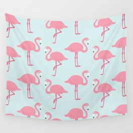 Flamingo Pattern Wall Tapestry