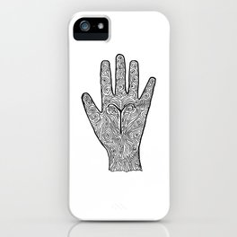 Aries Hand / Hamsa iPhone Case