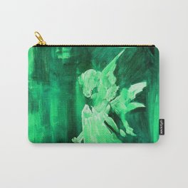 Guardian Angel - Bottle Green Carry-All Pouch