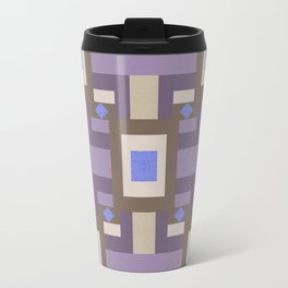 WINTER GEOMETRY PATTERN Travel Mug