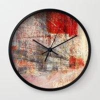 subway Wall Clocks featuring Subway by Fernando Vieira