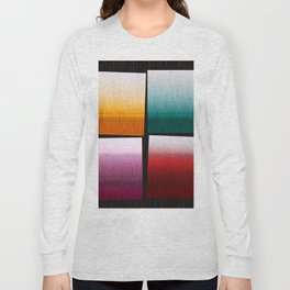 Abstract Composition 505 Long Sleeve T-shirt
