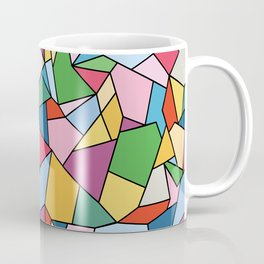 Stained Glass Mosaic - Candy Palette Coffee Mug