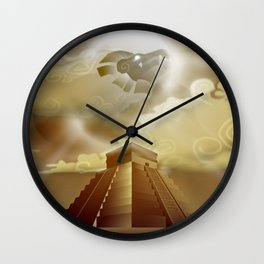 El Castillo Wall Clock